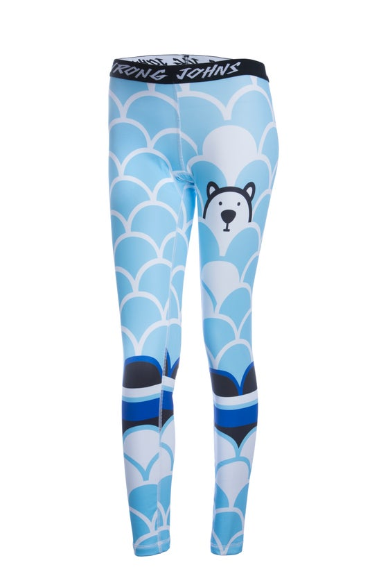Image of Womens Polar Bear Thermal Bottoms