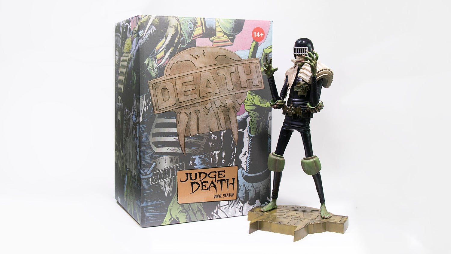 Image of ART EDITION JUDGE DEATH (FREE SHIPPING PROMOTION)