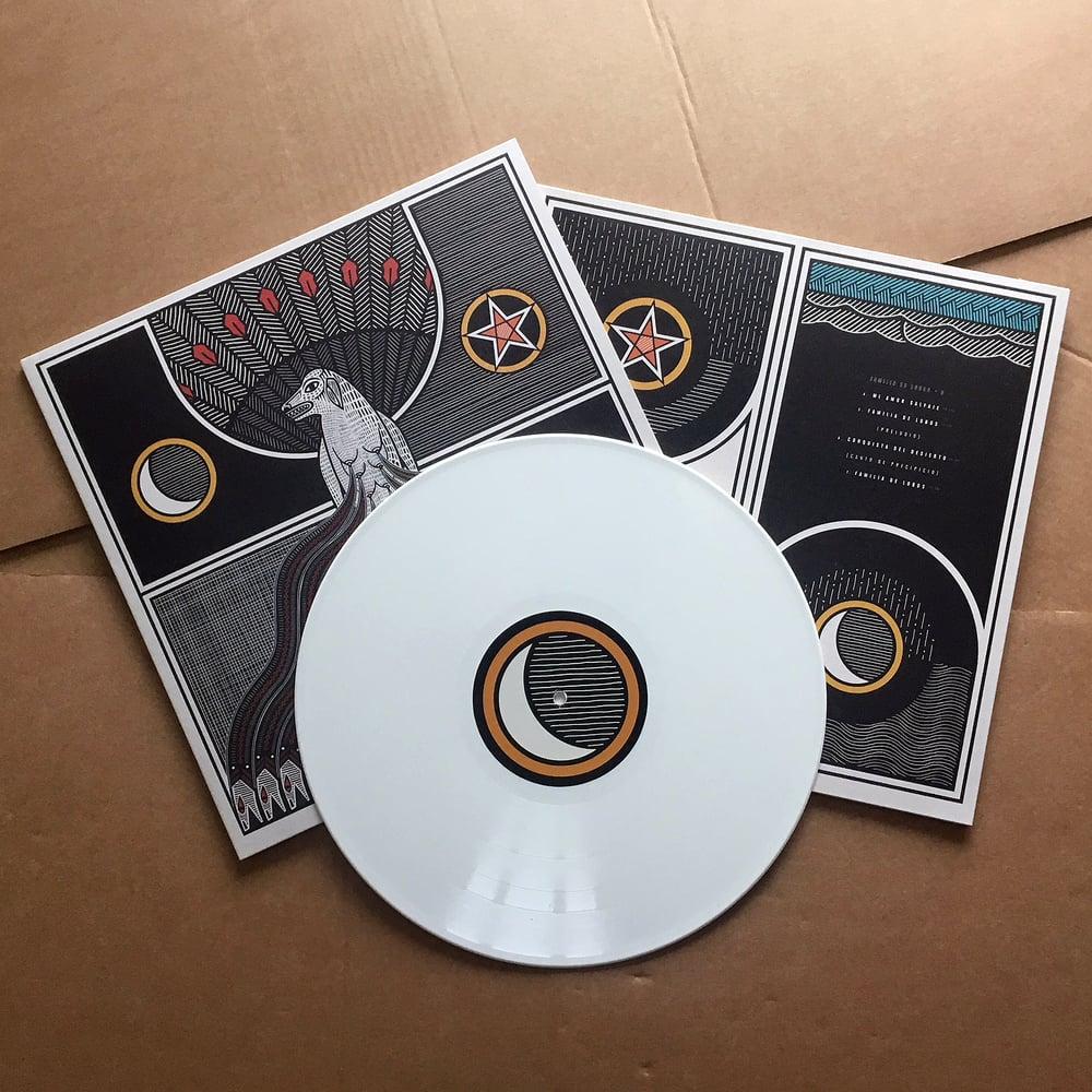 FAMILIA DE LOBOS 'Familia de Lobos' White Vinyl LP