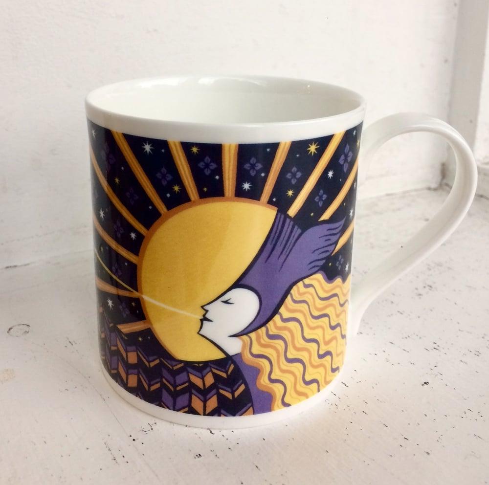 Image of Bugle Suffrage Centenary Mug