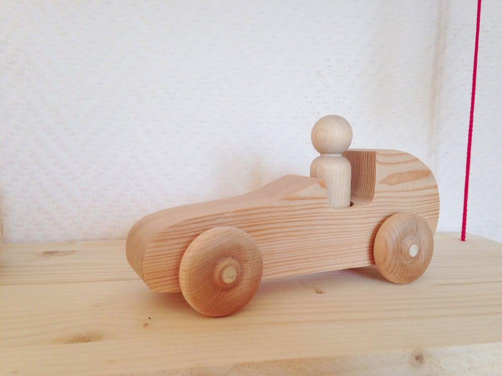 Image of CréaKit : Véhicule en bois à peindre