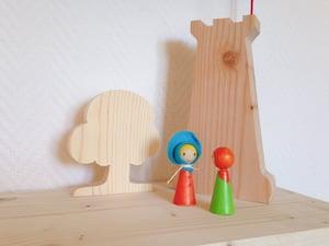 Image of CréaKit : la tour de la sorcière (+ arbre + 2 personnages)