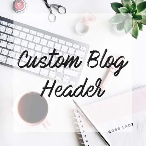 Image of Custom Blog Header & Social Media Banners