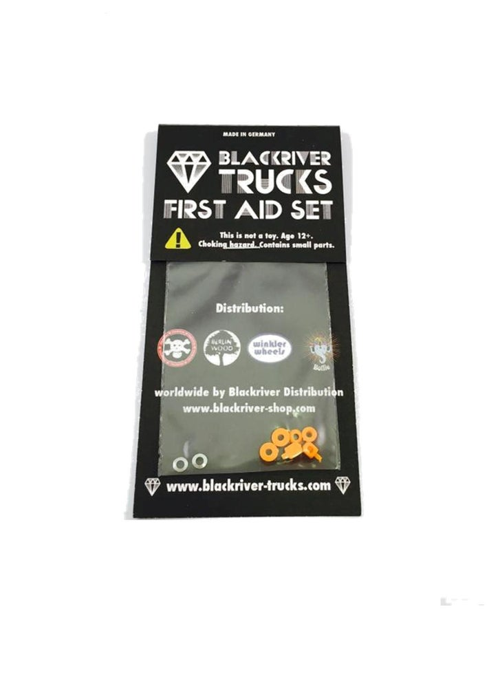 Image of Blackriver Trucks First Aid Bushings Classic Orange