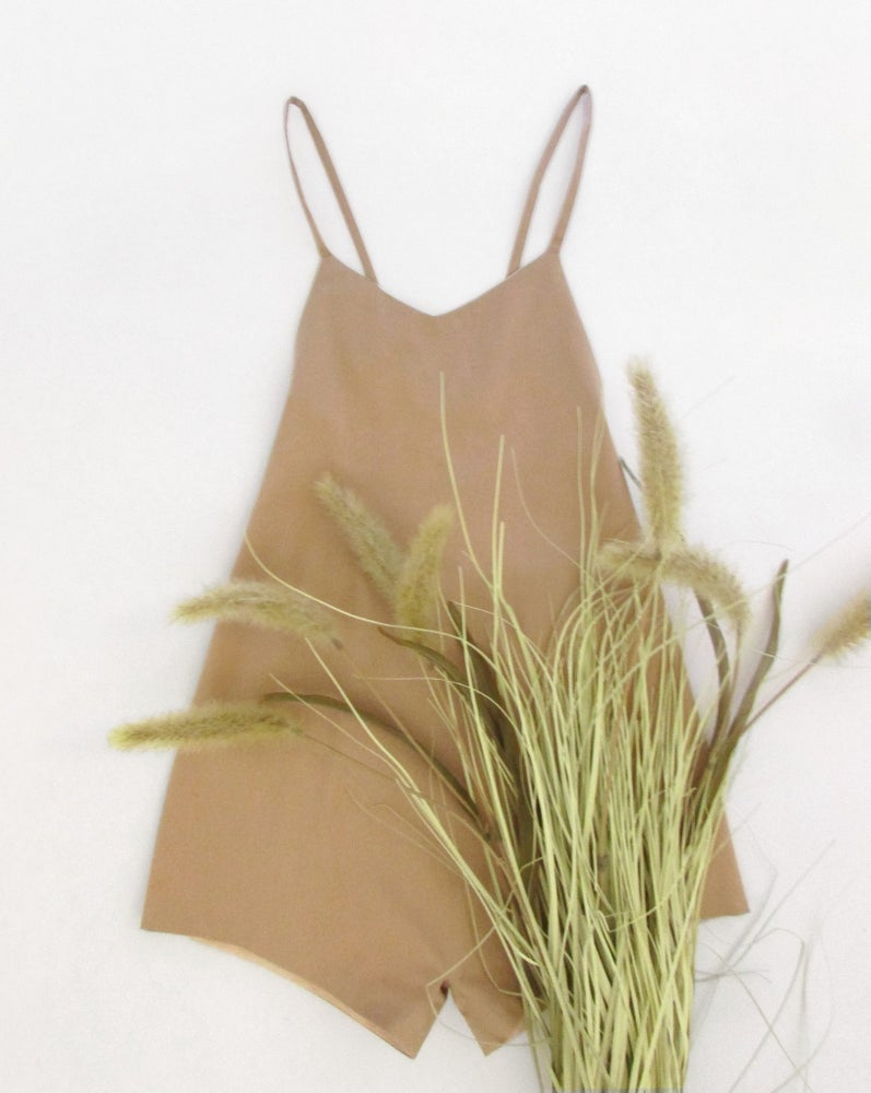 Image of playsuit- sand