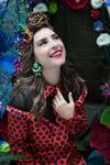 Tribute to Carmen Miranda - Touradas em Madrid - Boucles CLIPS couture