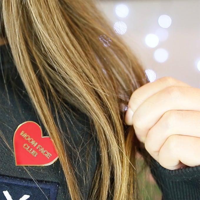 Image of MOON FACE CLUB PIN