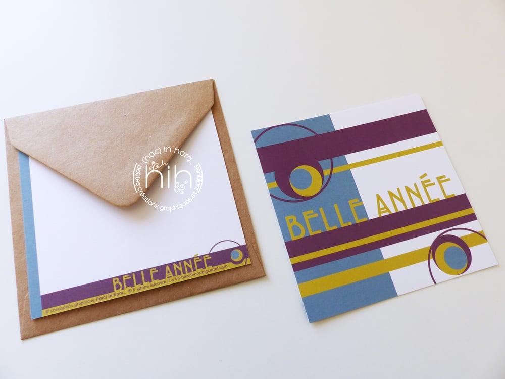 Image of cartes de voeux ╞╪ART DÉCO╪╡