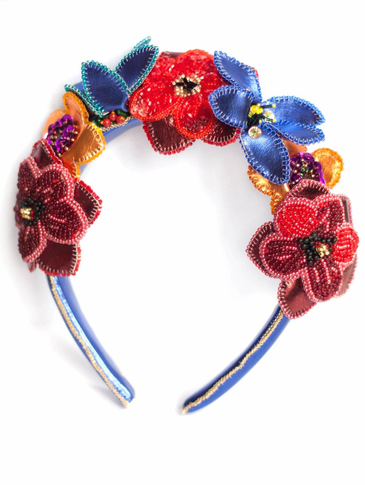 Image of Tribute to Carmen Miranda - Cuanto le gusta - Diadème fleuri Haute Couture