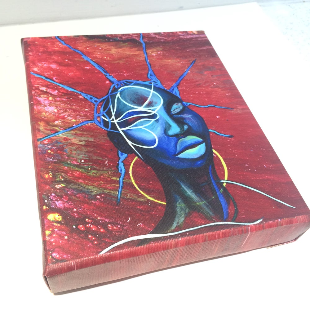 Image of ''Decoder''  canvas box print