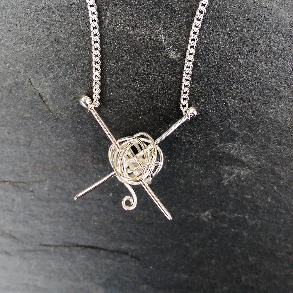 Image of Knitting Necklace