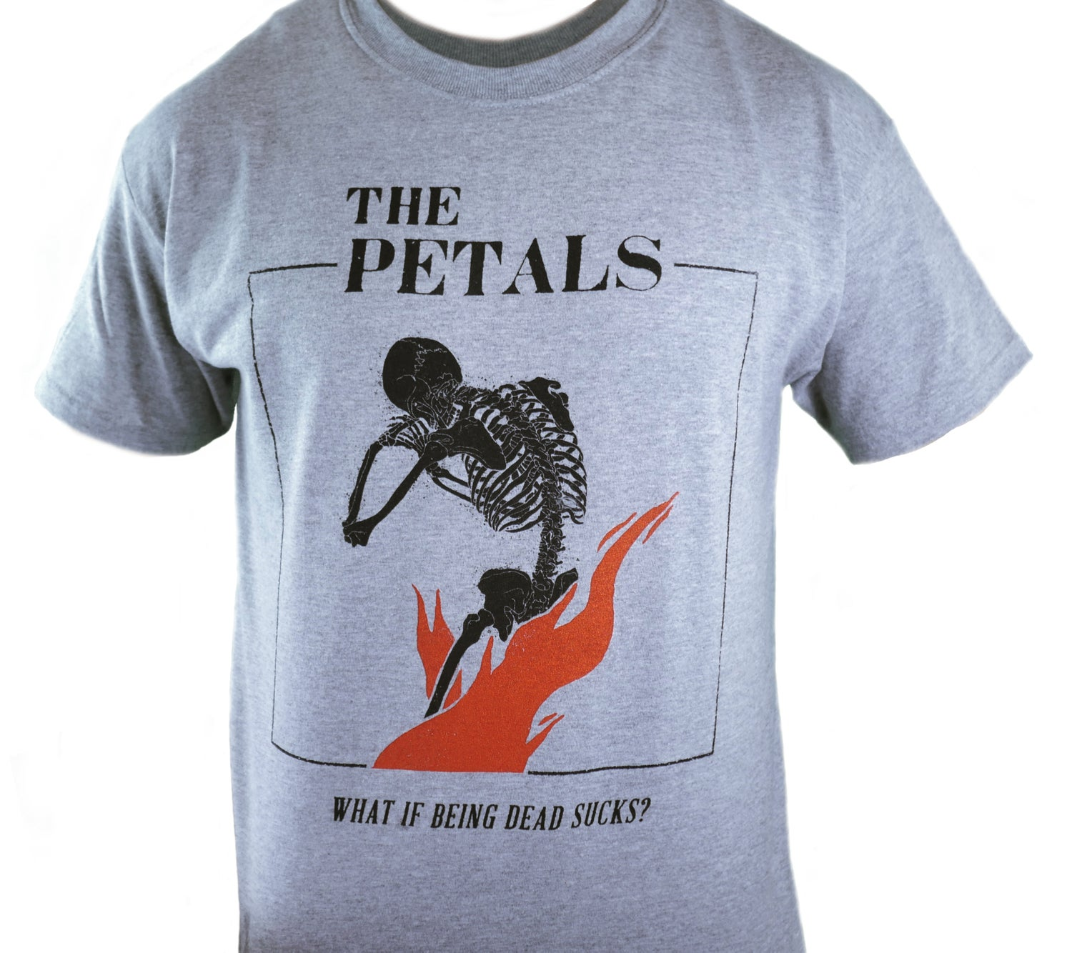 Image of What If Being Dead Sucks? Tee - Gray