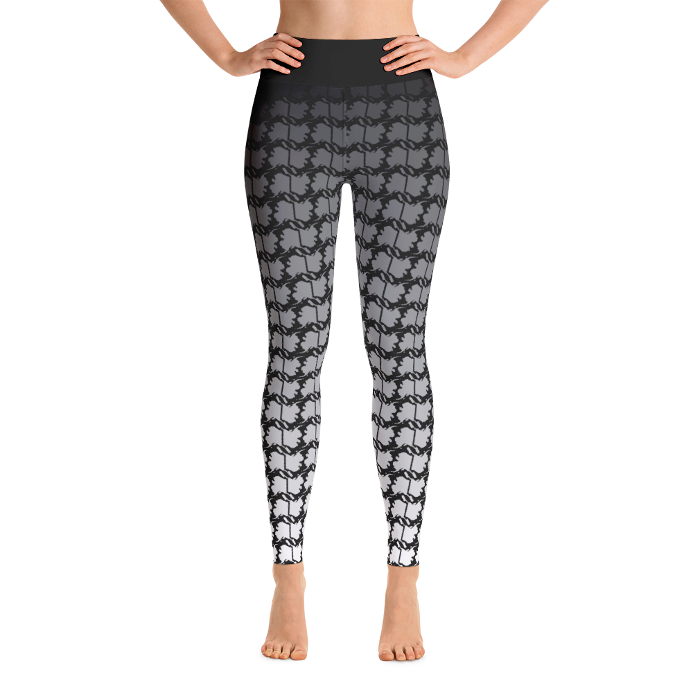 Image of Alaska Ombre Fade Yoga Pants