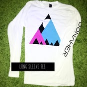 Image of ISMLIT Mountains Long Sleeve Tee