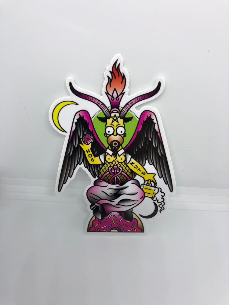 Image of Baphomer Sticker