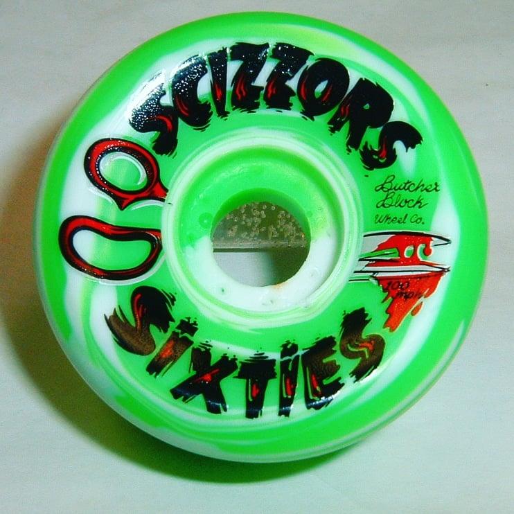 """Image of Butcher Block Wheel Co """"Scizzors Sixties"""""""