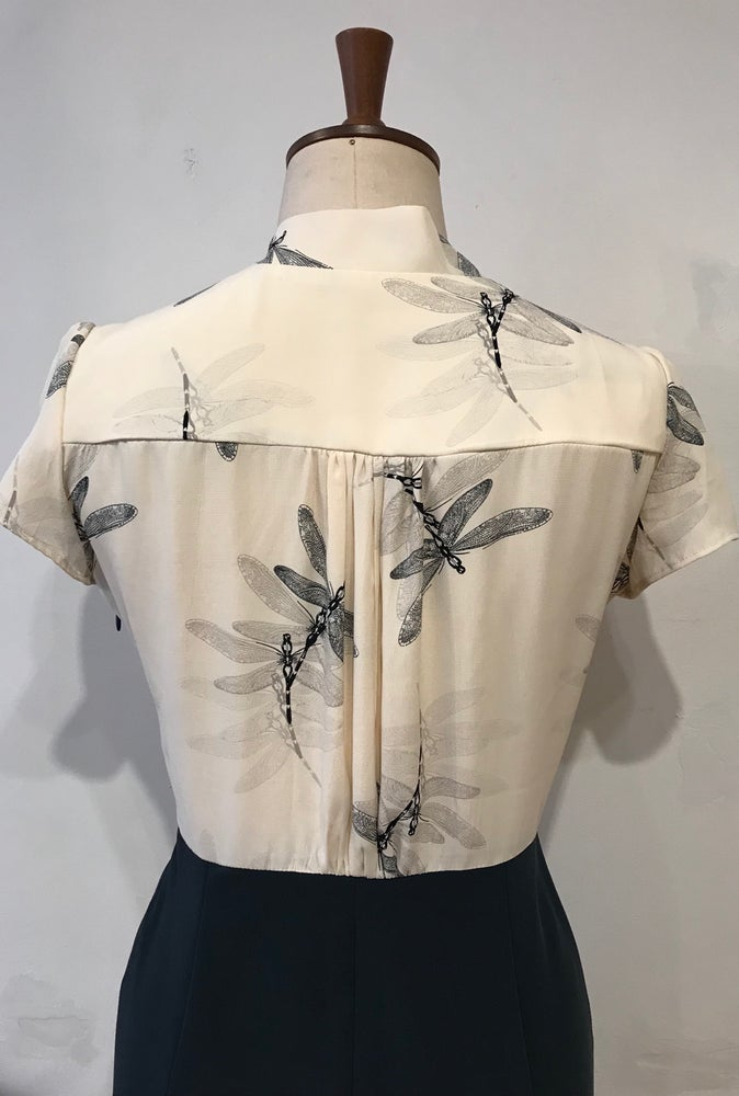 Image of Helene dragonfly dress