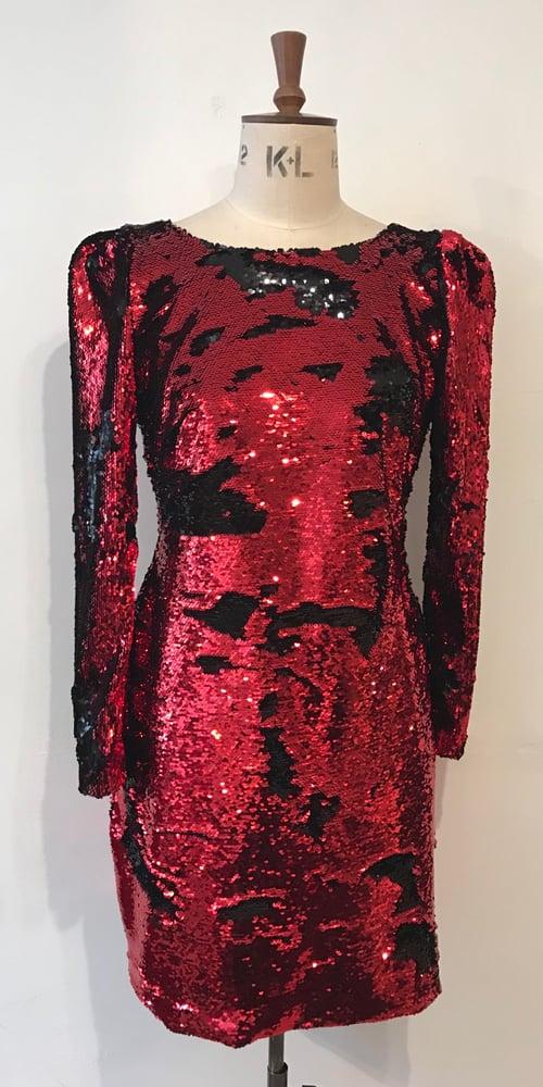 Image of Stardust flip sequin dress