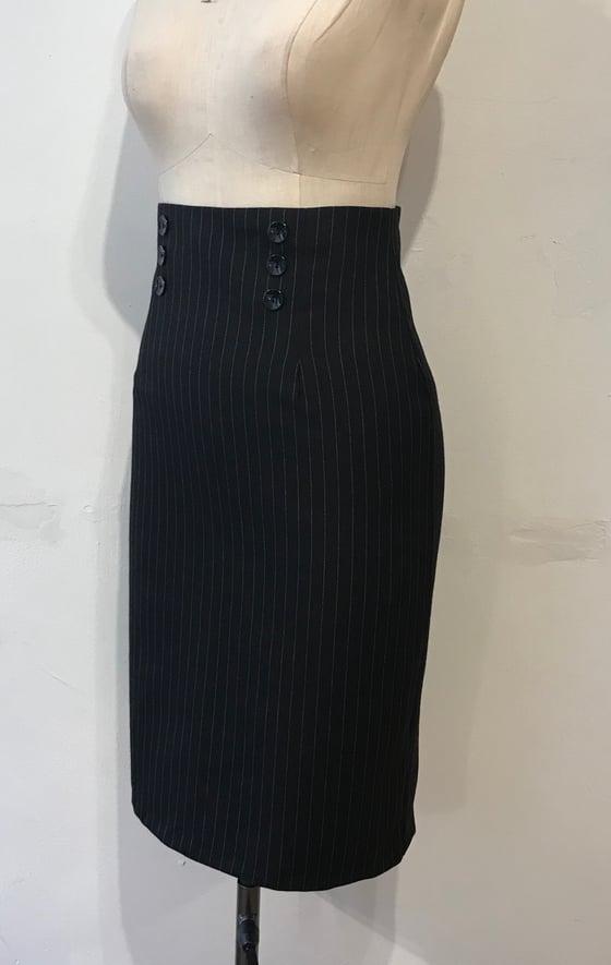 Image of High waisted pencil skirt