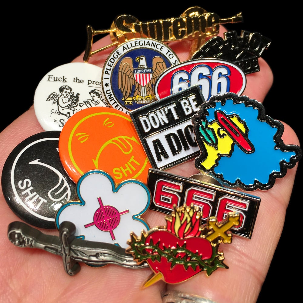 Image of 2017 Pins & Buttons
