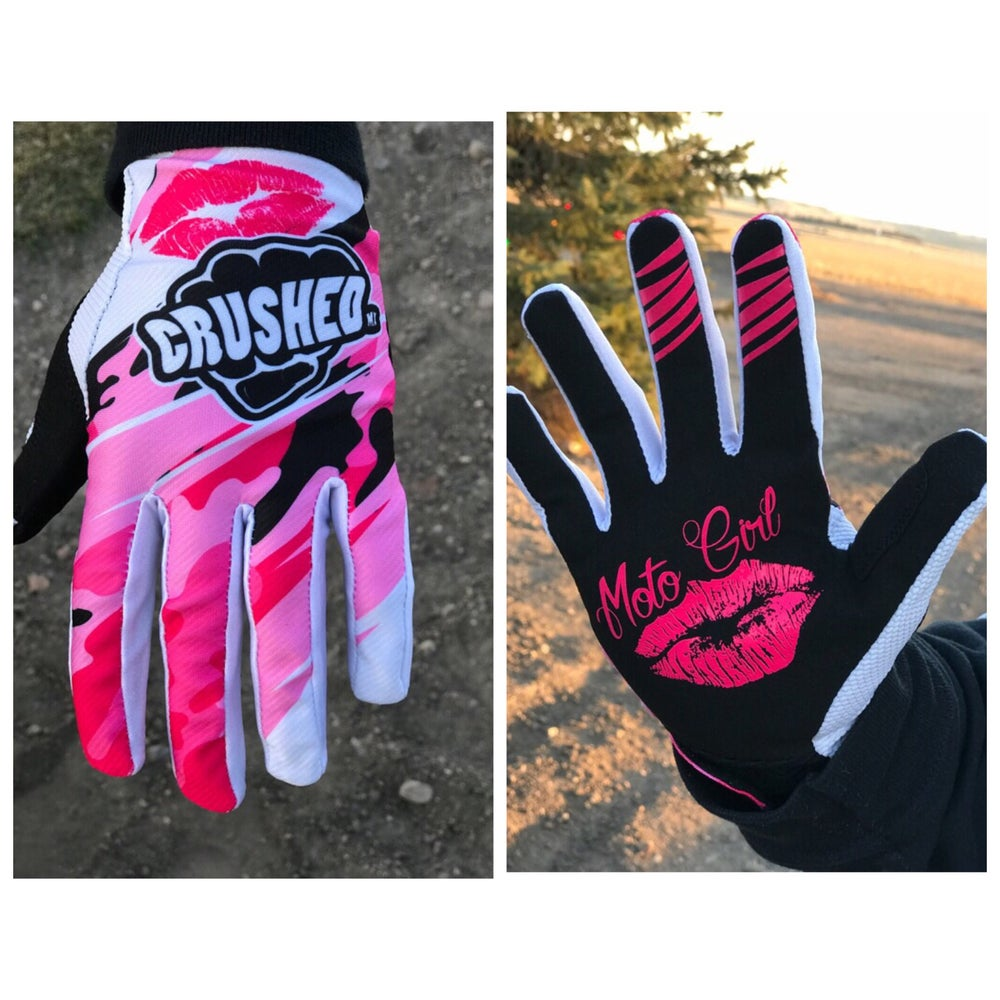Image of Moto Girl Motocross Gloves