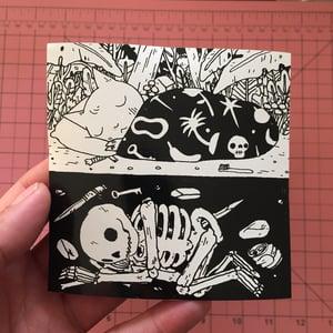 Image of Sleeping Sticker