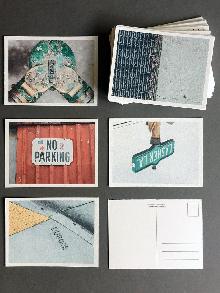 Image of Sidewalk Botanist Postcards: Complete Set of 50