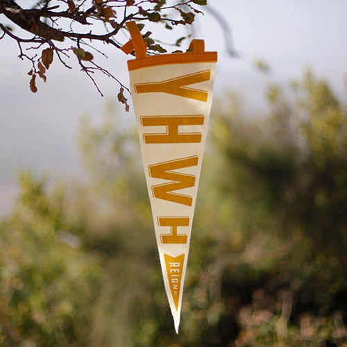 Image of YHWH Reigns Pennant