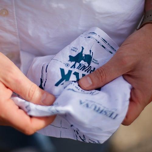 Image of Milk & Punny Teshuva Handkerchief