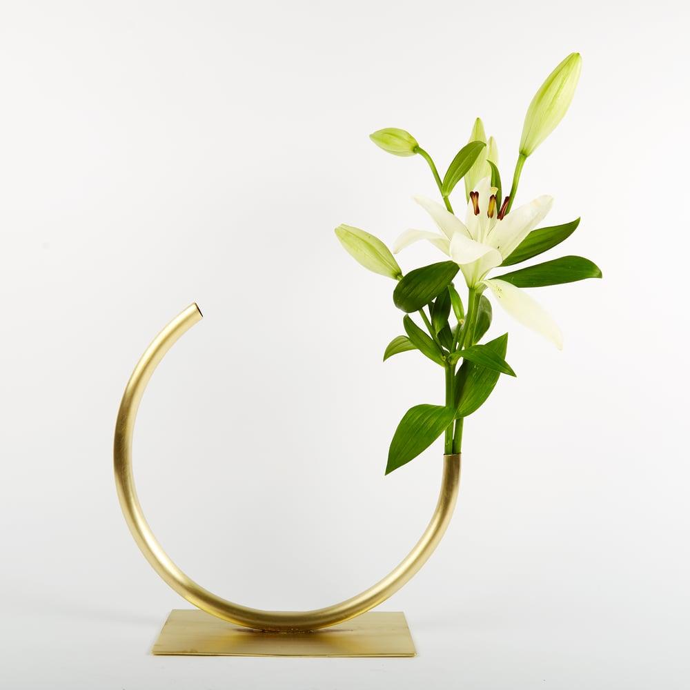 Image of Vase 457 - Edging Over Vase