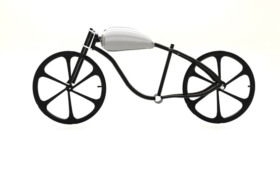 Image of Motorized bicycle Fat tire bike Rolling chassis kit 01
