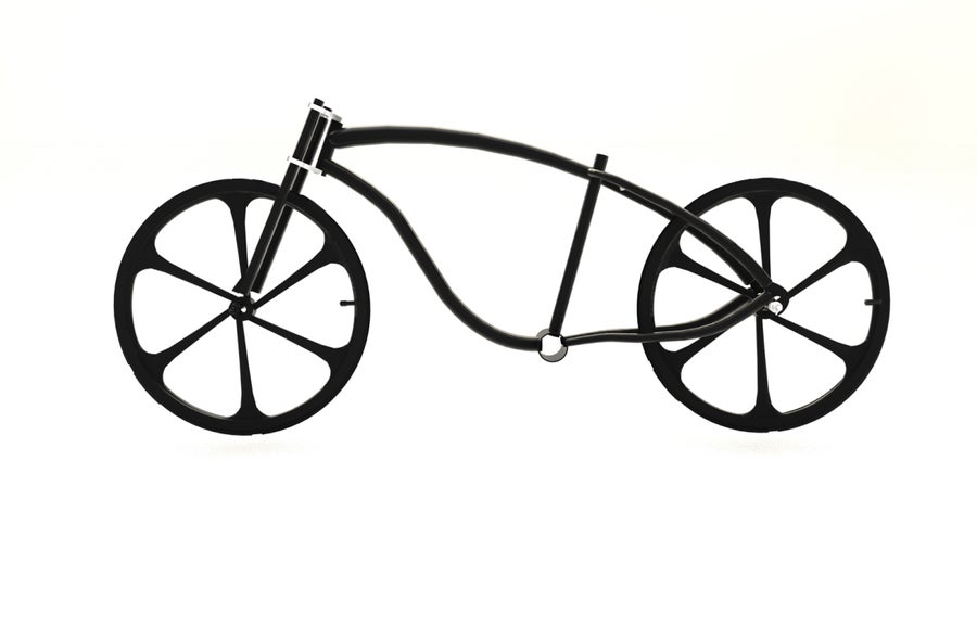 Image of Rolling chassis Fat tire bike kit 02