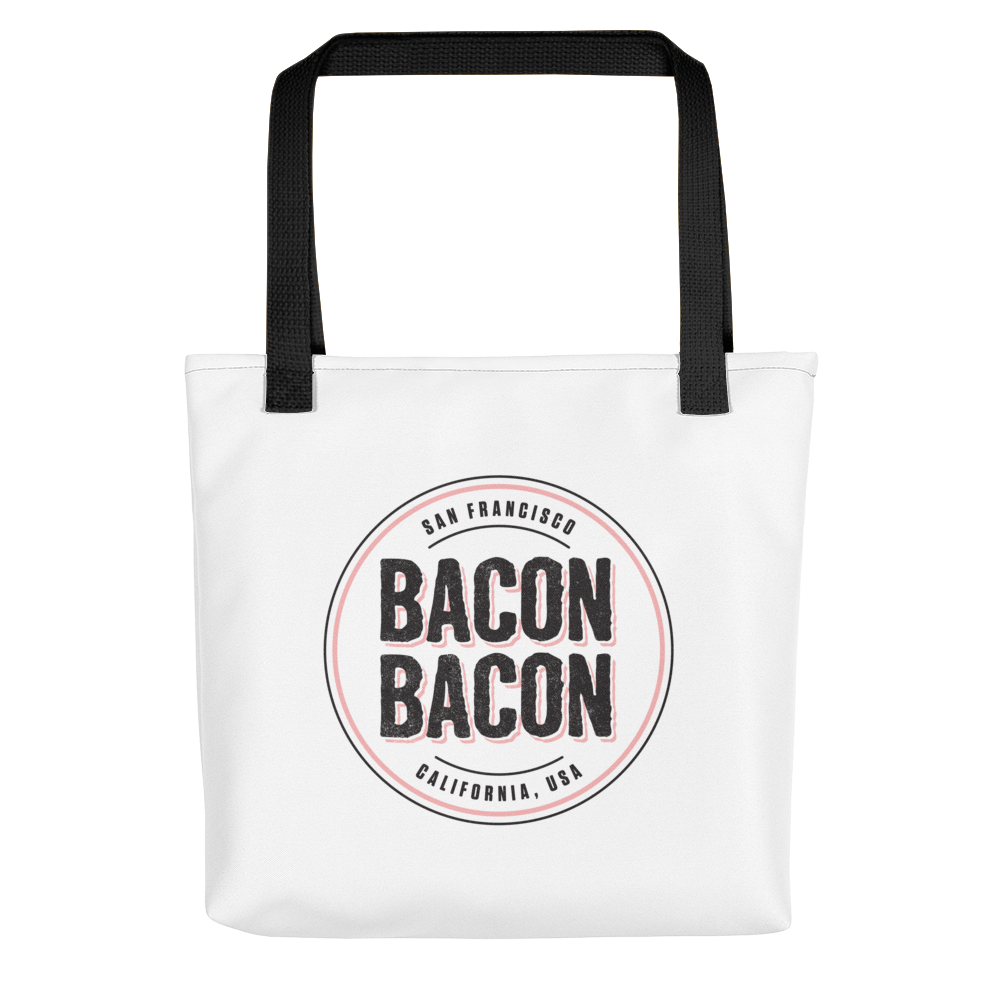 Image of Bacon Bacon Logo Tote