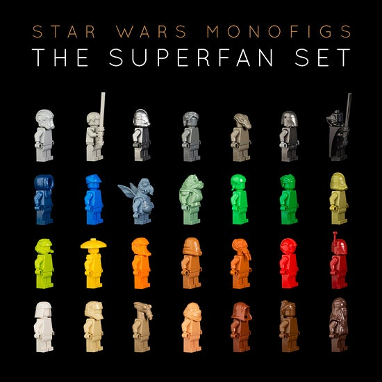 THE STAR WARS SUPERFAN SET [LIMITED EDITION] / MONOFIGS.COM
