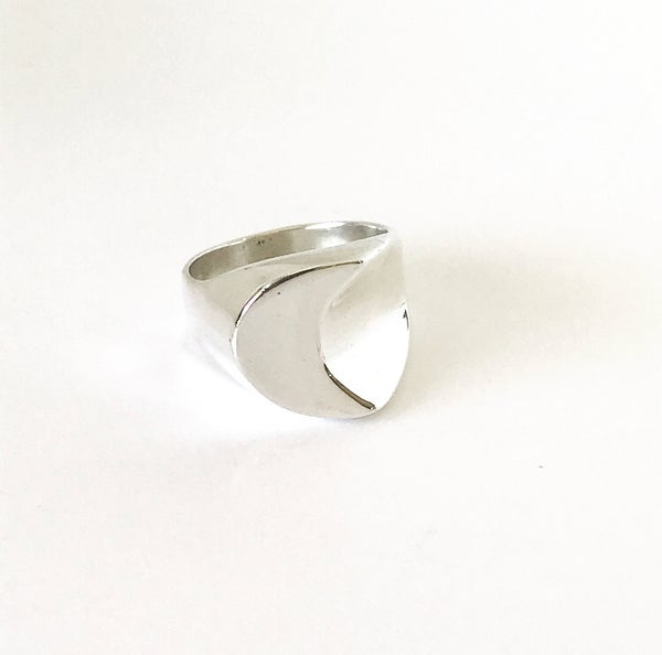 Image of Luna Ring in Sterling Silver