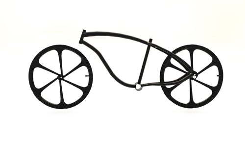 Image of Motorized bicycle Imperial fat tire rolling chassis