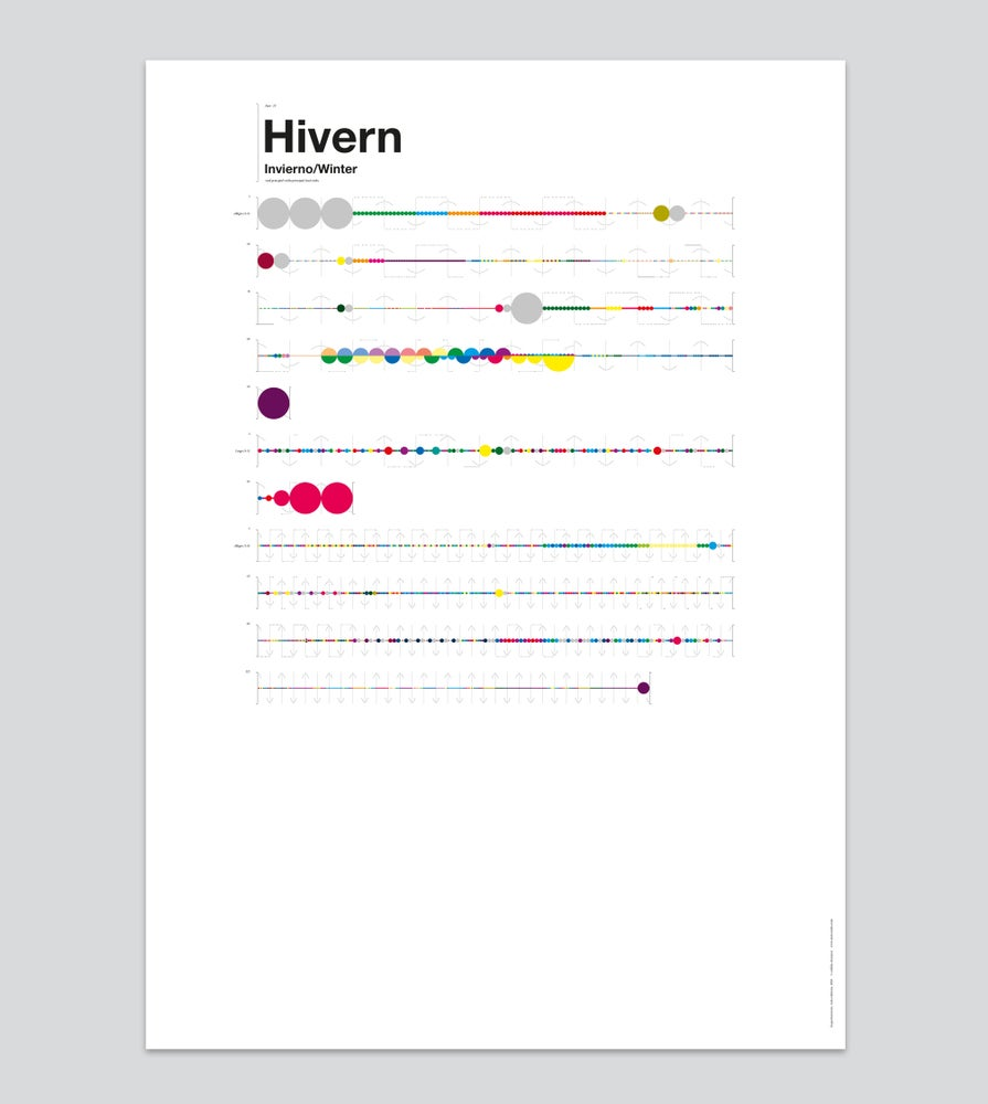 Image of Hivern — Poster