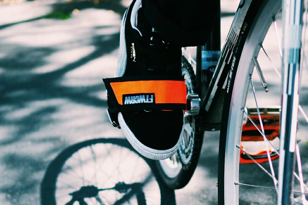 Image of FTWCRW Foot-Jammer flat pedal straps