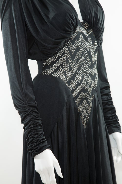 Image of Crystals & Sleeves Disco Stunner