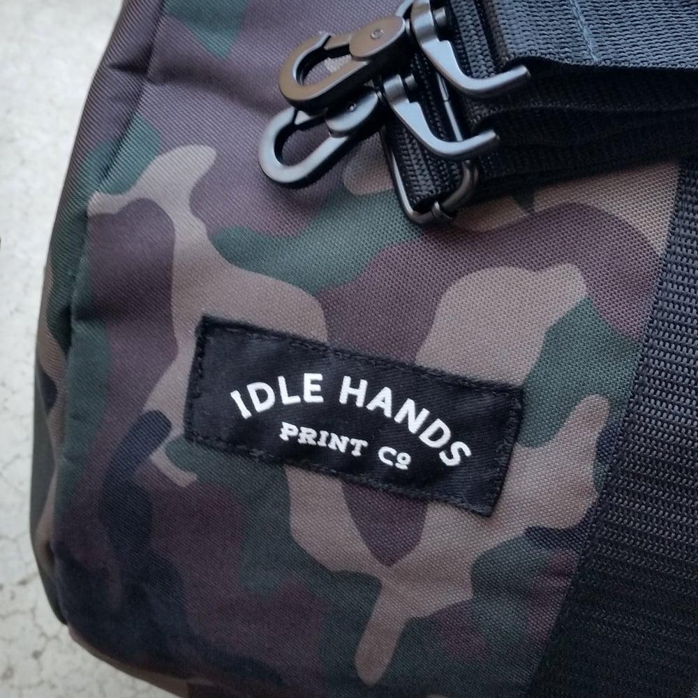 Image of IHPC Camo Duffel Bag (limited edition)