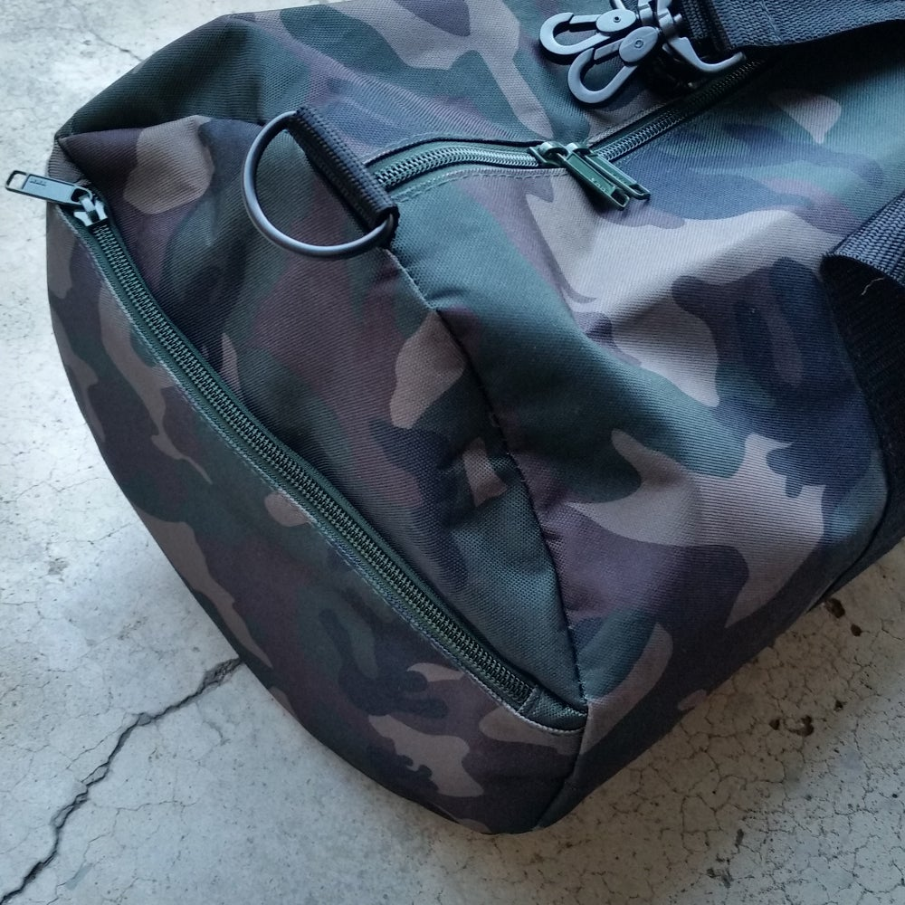 Image of IHPC Camo Duffel Bag (limited edition)
