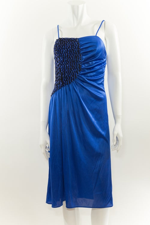 Image of Deep Blue Disco Sequin