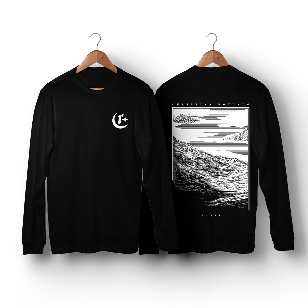 Image of Waves Long Sleeve