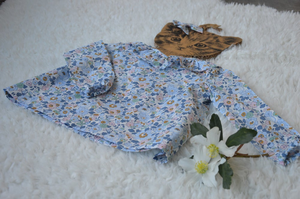 Image of Blouse liberty betsy denim