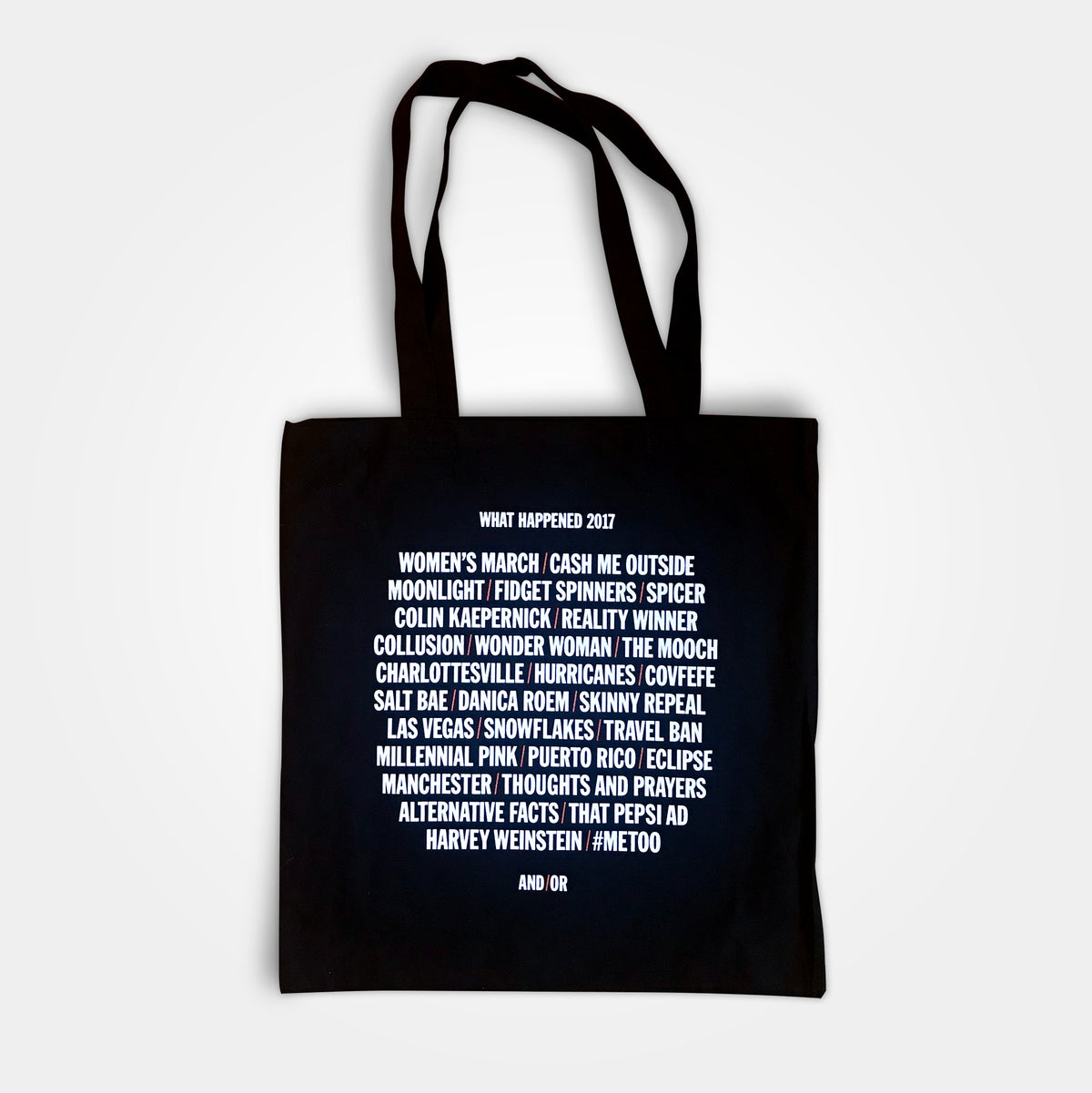 Image of What Happened 2017 Tote