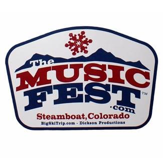 Image of Music Fest Sticker