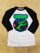 Image of Van Girl Blacklight Raglan