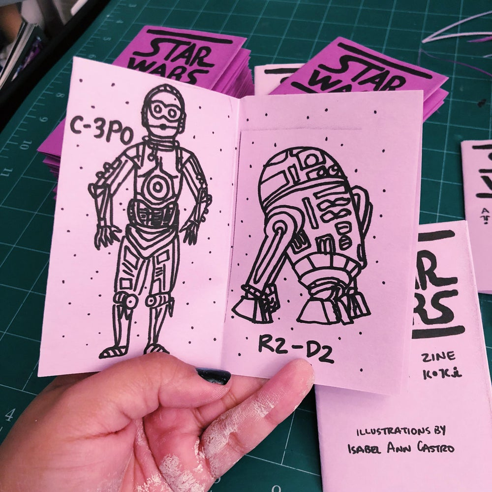 Image of STAR WARS Droid Zine