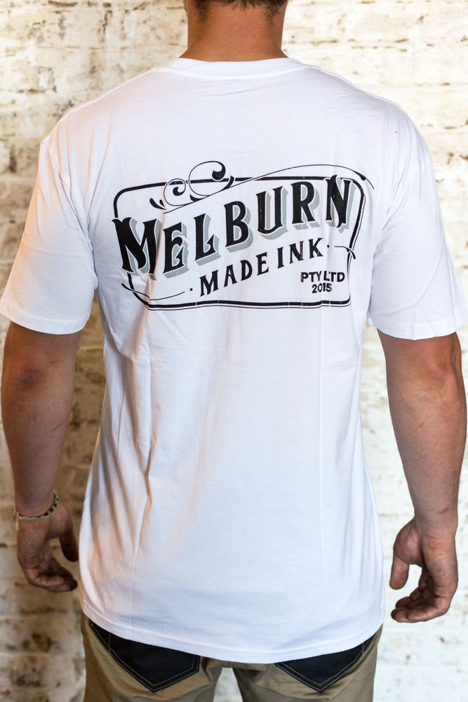 Image of Melburn Made TJ Edition T-Shirt White