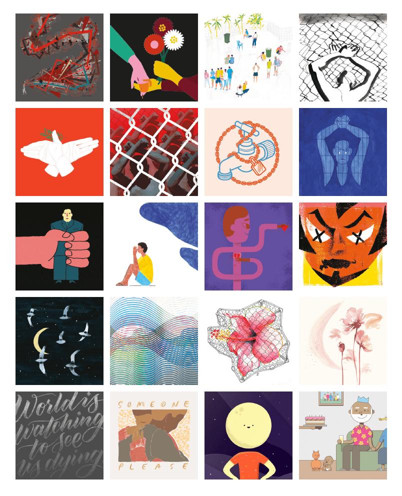 Image of Freedom Calendar 2018: Australian Artists & Refugees on Manus Island